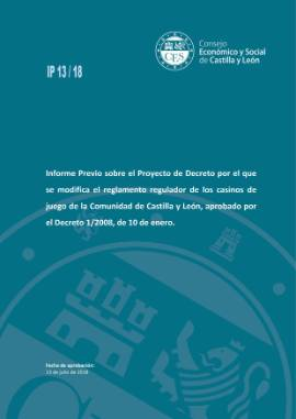 PORTADA IP 13 18 Modifica Decreto Casinos